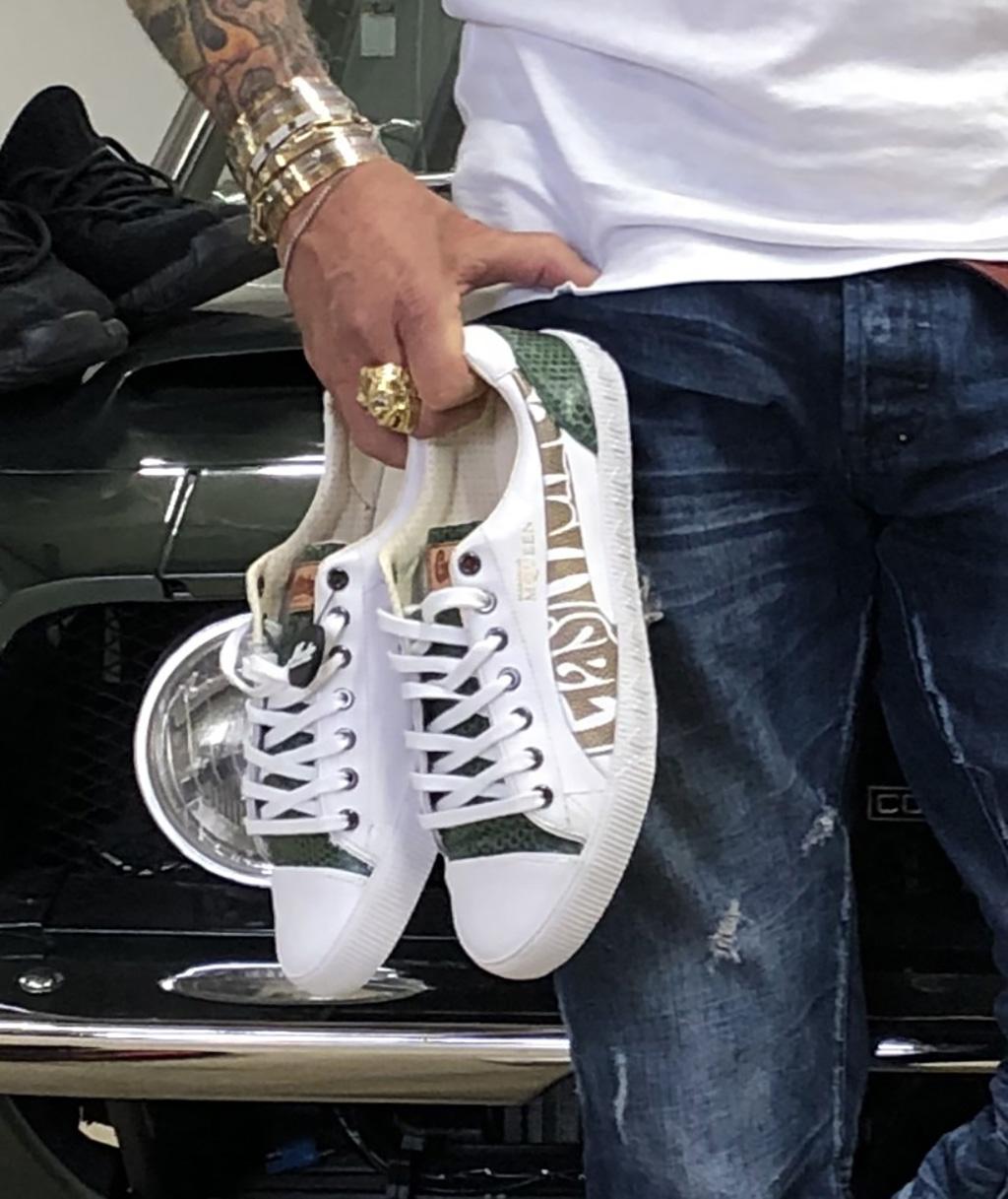 mache, alexander mcqueen sneakers