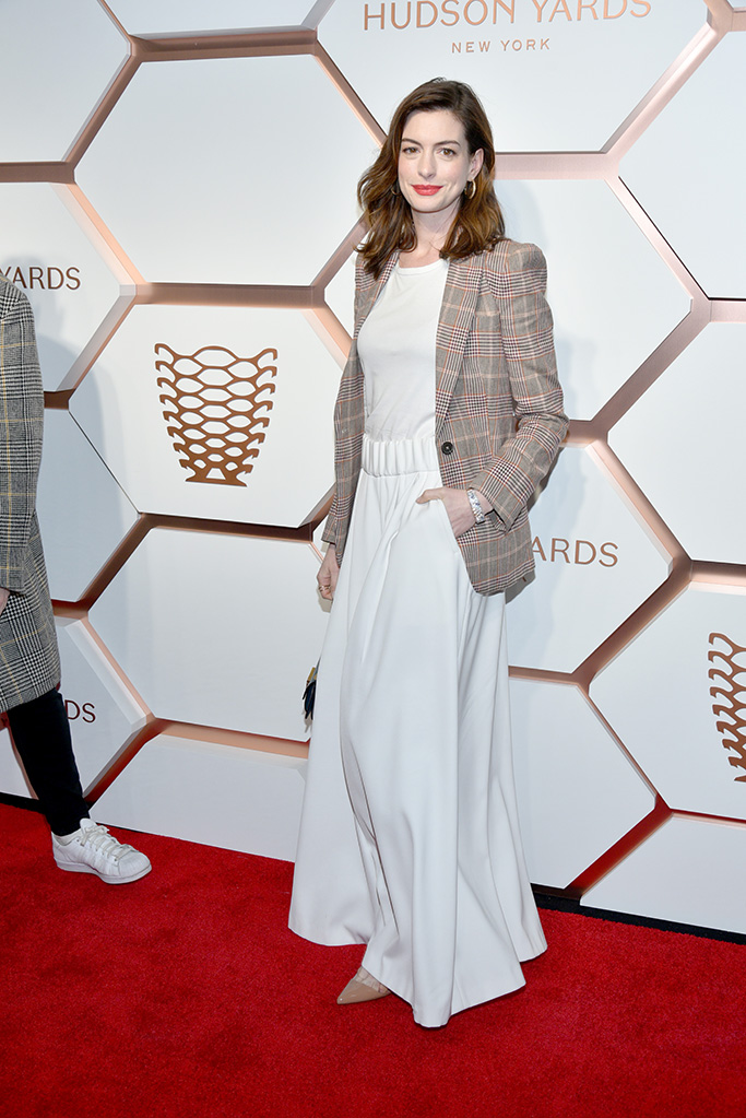 Anne HathawayThe Shops and Restaurants at Hudson Yards VIP Grand Opening Event, Arrivals, New York, USA - 14 Mar 2019