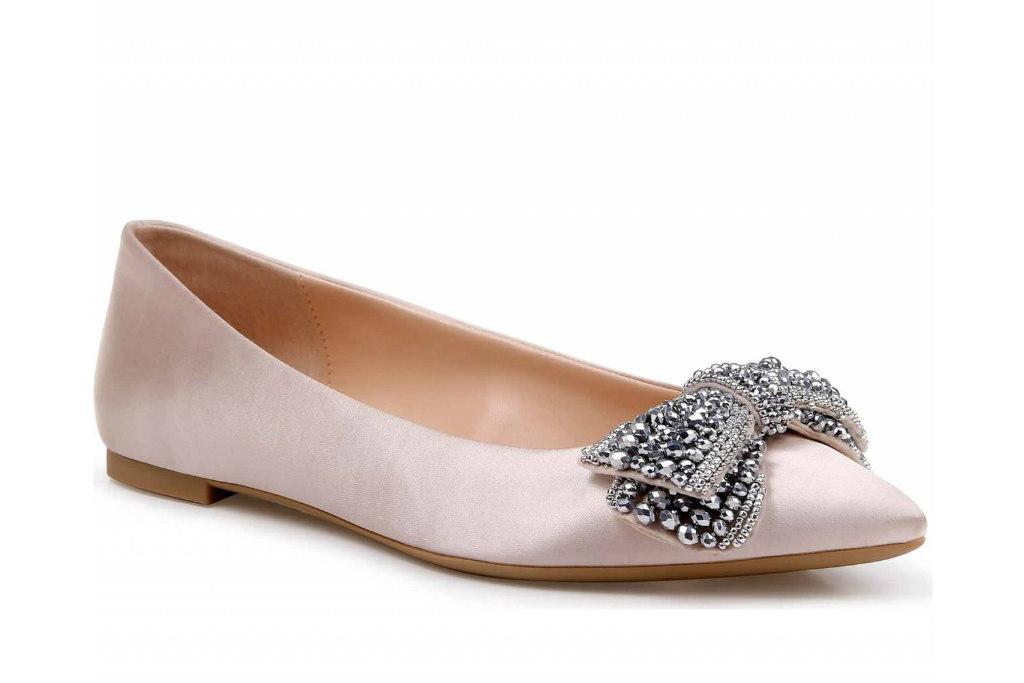 jewel badgley mischka, prom shoes