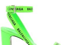 Balenciaga logo sandal