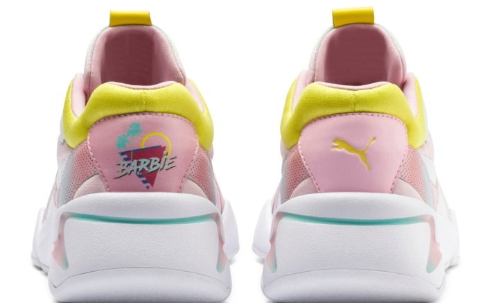 puma barbie nova collab