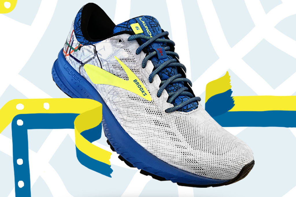 Brooks 'T' Launch 6 for the 2019 Boston