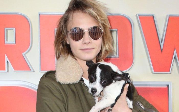 'Superpower Dogs' film premiere, Los Angeles, USA - 09 Mar 2019 Cara Delevingne