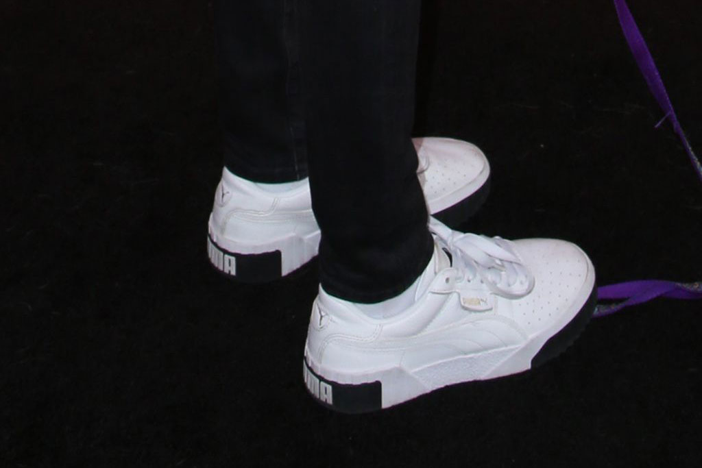 Cara Delevingne, Puma sneakers
