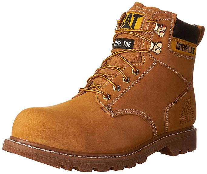 8. Caterpillar Second Shift Steel Toe Boot