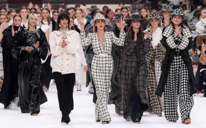 7 Ways That the Chanel Fall 2019 Show Paid Tribute to Karl Lagerfeld