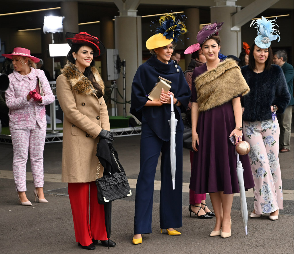 cheltenham ladies day, style