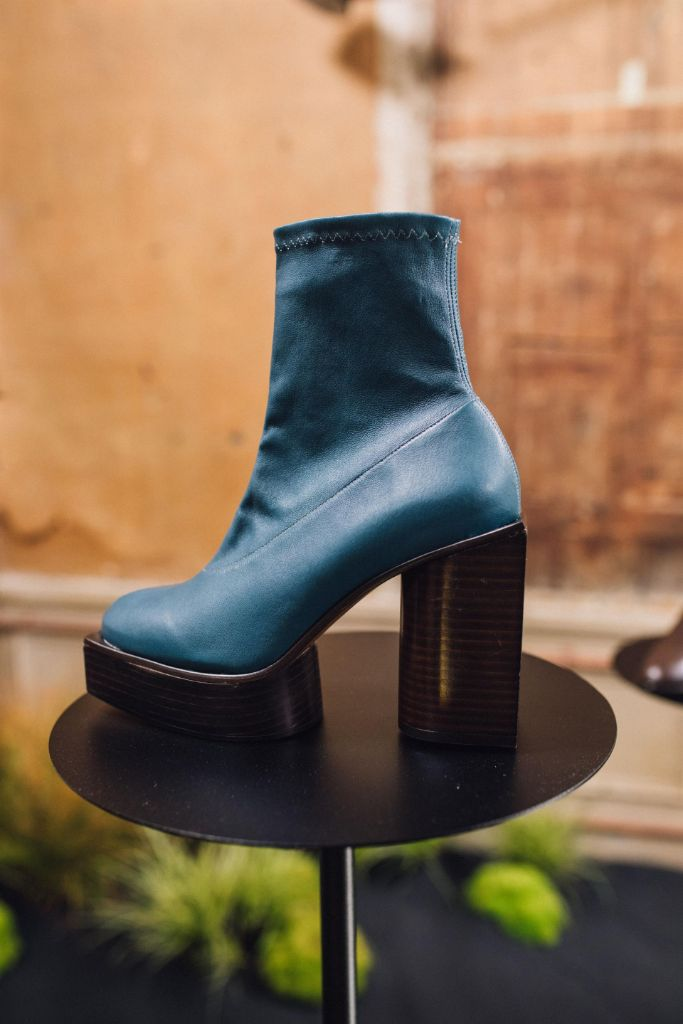 Clergerie, fall 2019 trends, blue platform boots