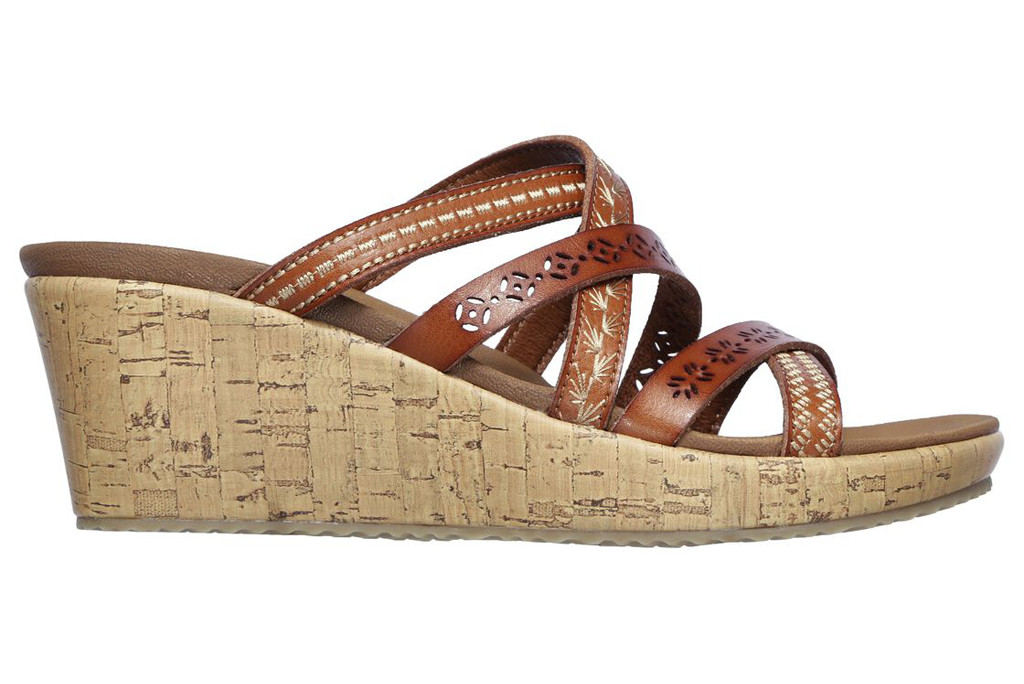 skechers sandal, beverlee sandal, comfortable sandals