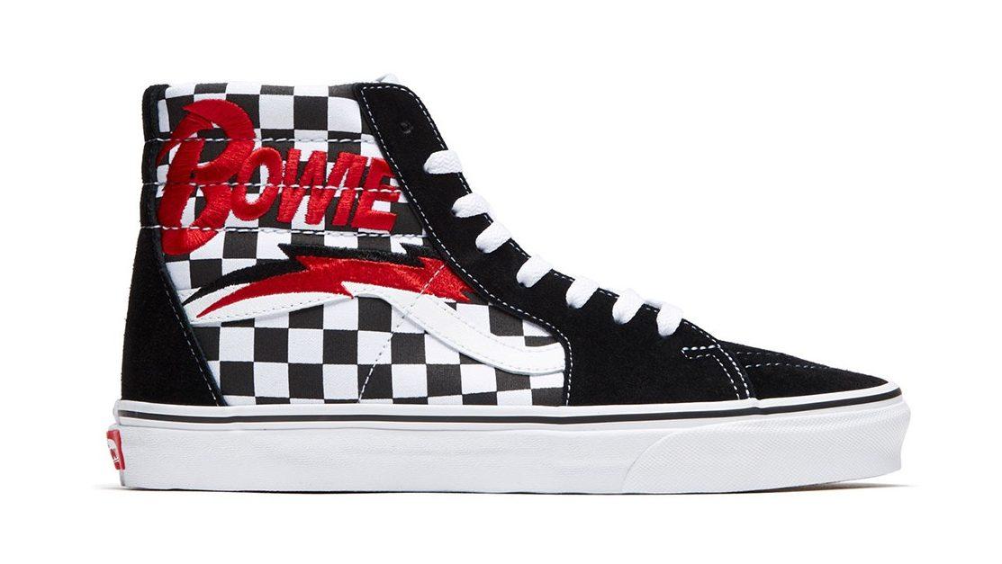 Vans x David Bowie Shoe Collab Starts