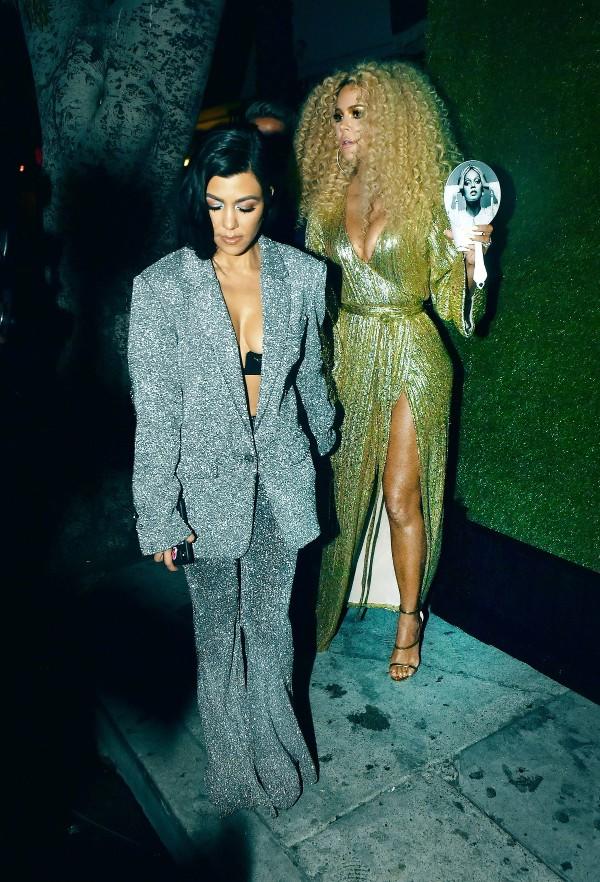 diana ross, Diana Ross' 75th birthday party, khloe kardashian, kourtney kardashian