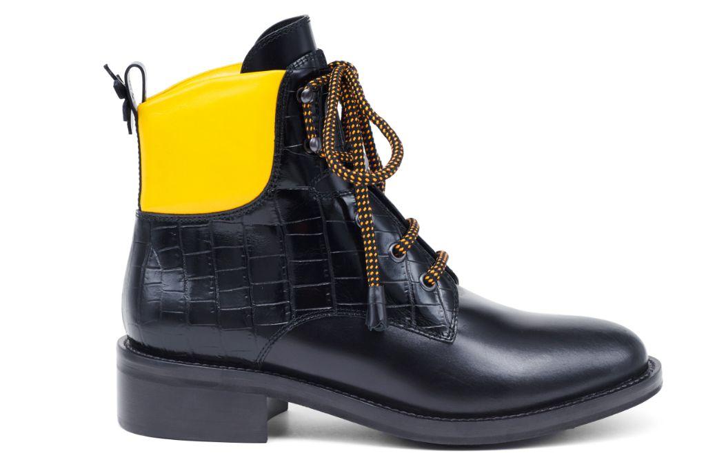 Fabrizio Vita, fall 2019 trends, black lace-up boots