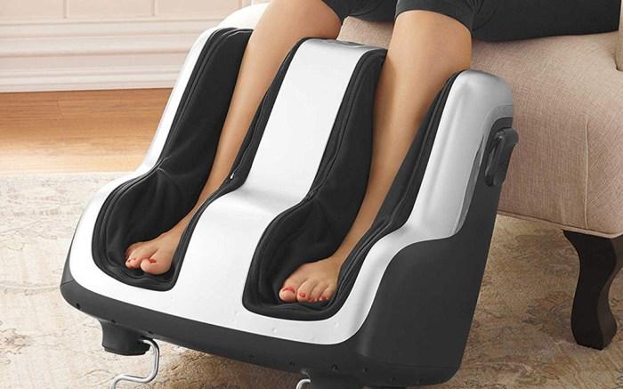"""Human Touch Reflex-4"""" Foot & Calf Shiatsu Massager"""