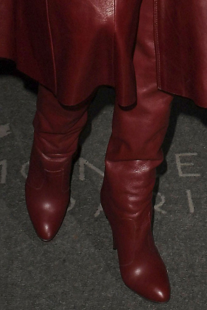 Gigi Hadid, tommy zendaya, thigh-high boots, celebrity style, paris fashion week