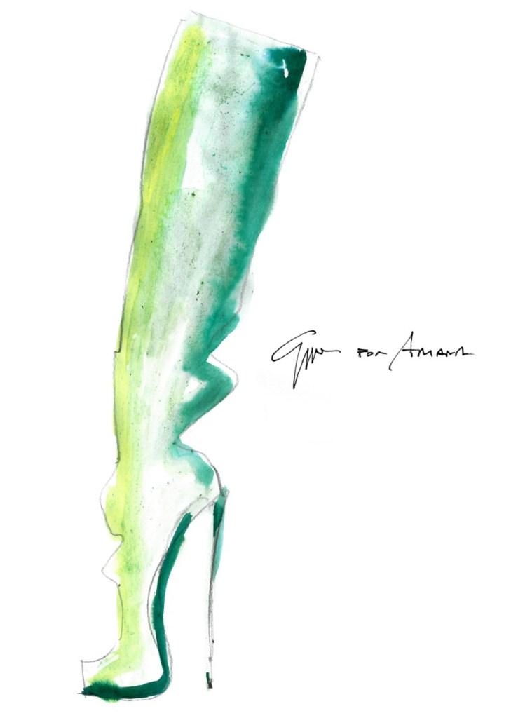Giuseppe Zanotti, ariana grande, shoes, sweetener tour