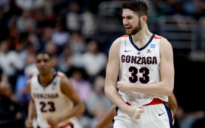 Killian Tillie, Gonzaga, NCAA tournament, march madness