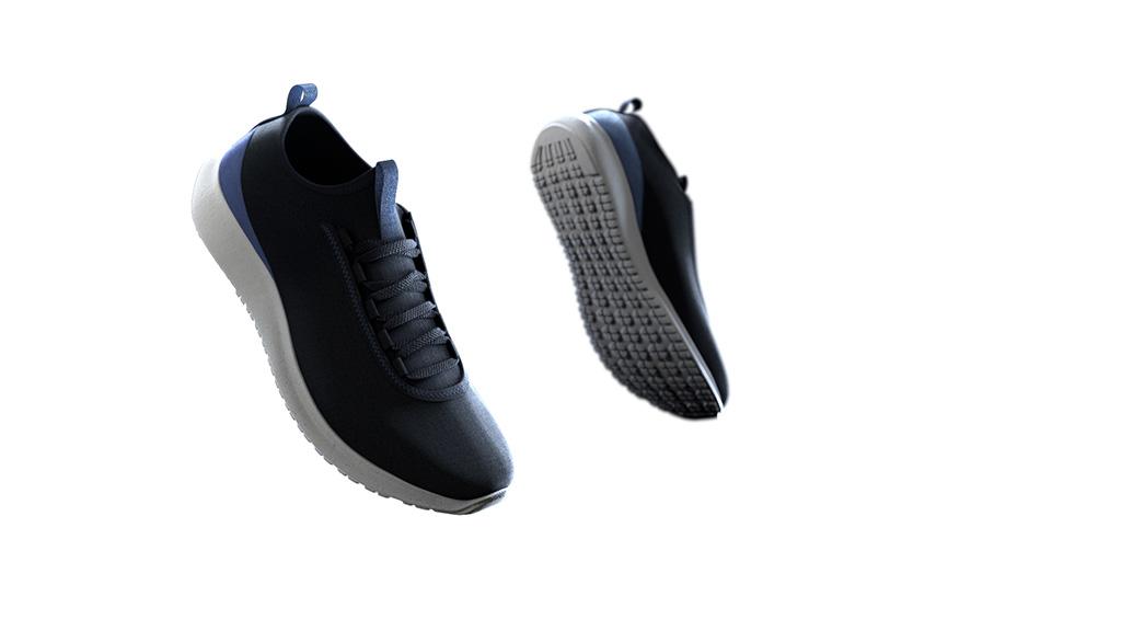 3D-fit shoes