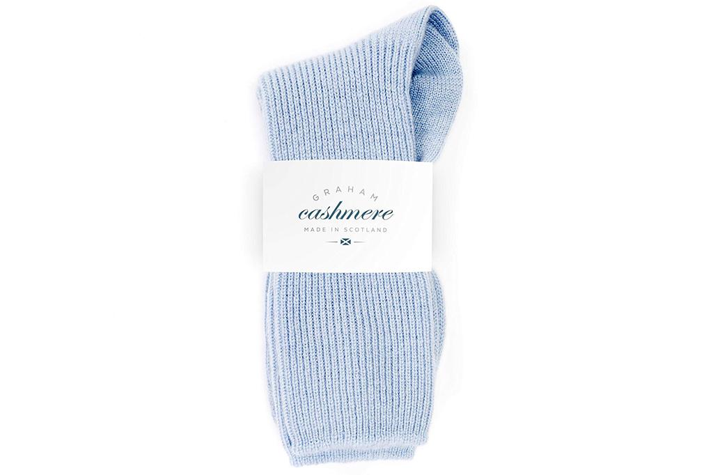 Graham Cashmere Bed Socks