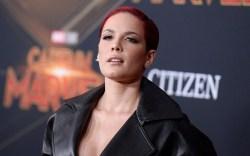 Halsey, 'Captain Marvel' Film Premiere, Arrivals,