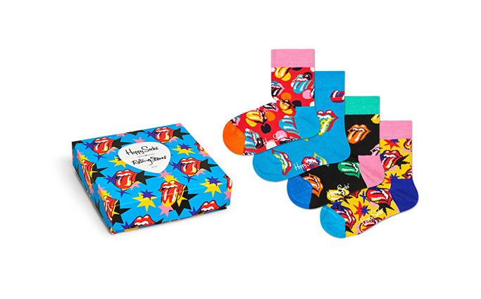 Kids Rolling Stones Sock Box Set