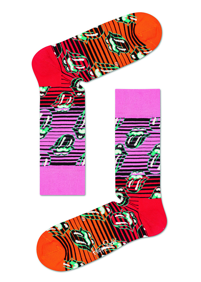 Rolling Stones Ruby Tuesday Sock