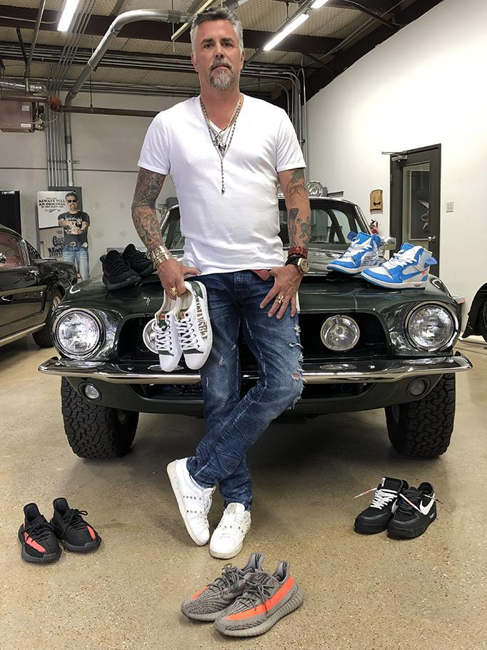Richard Rawlings, gas monkey garage, sneakers, shoes