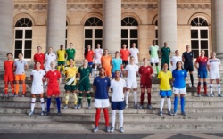 Nike unveils Women's World Cup uniforms.
