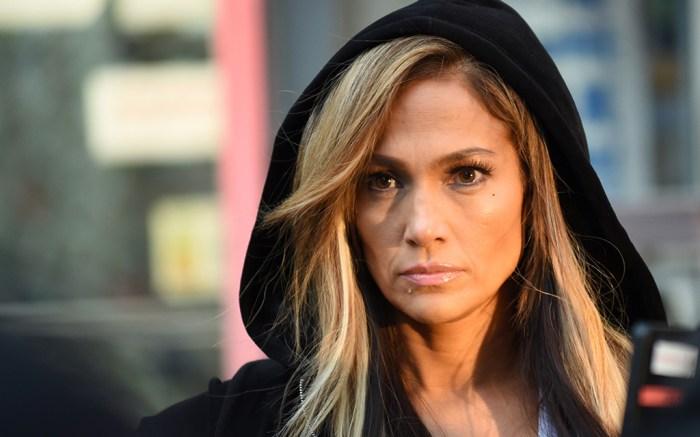 'Hustlers' on set filming, New York, USA – 29 Mar 2019