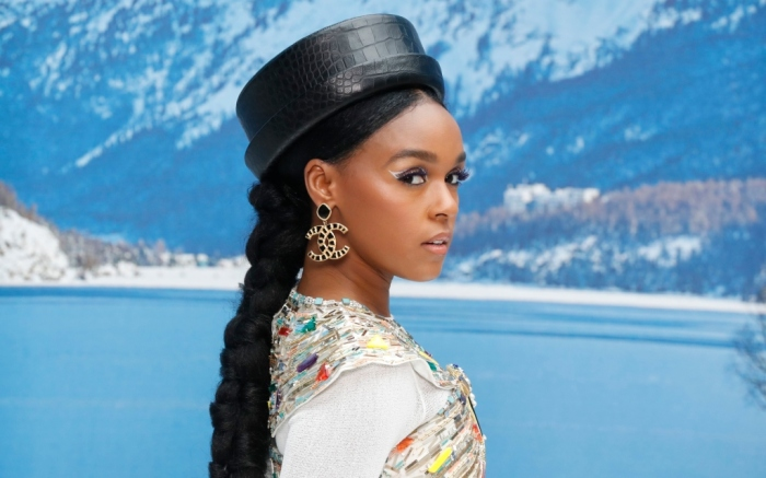 Janelle Monae at chanel