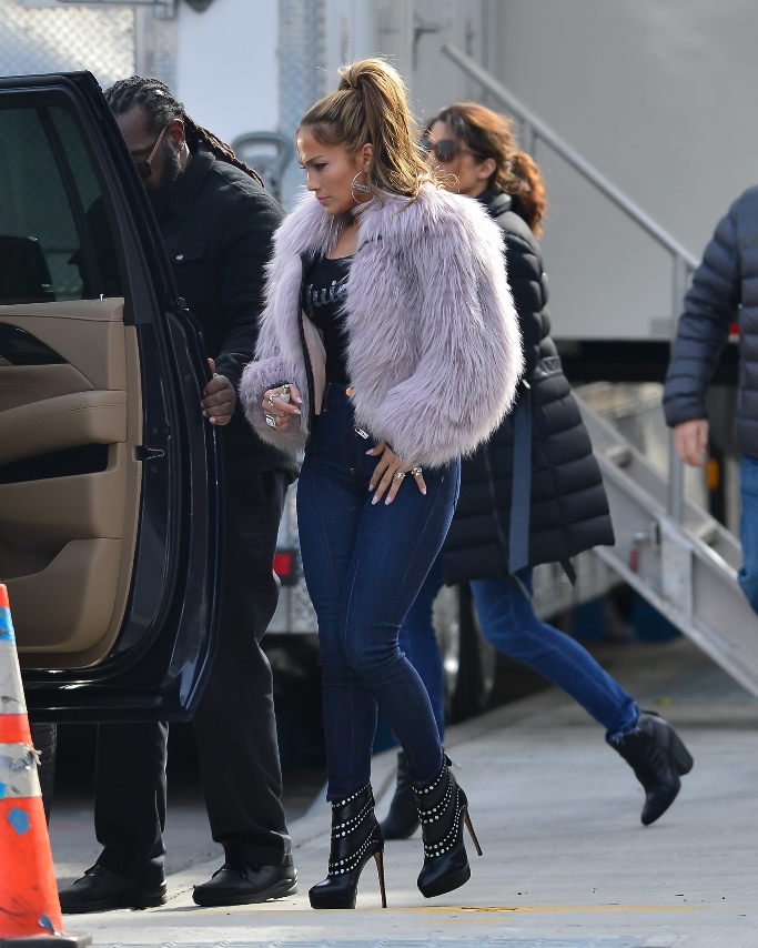 jennifer lopez, hustlers, new york, boots, juicy