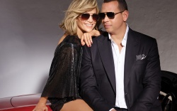 Jennifer Lopez and Alex Rodriguez in