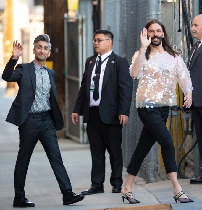 tan france, jonathan van ness, dries van noten, stella mccartney