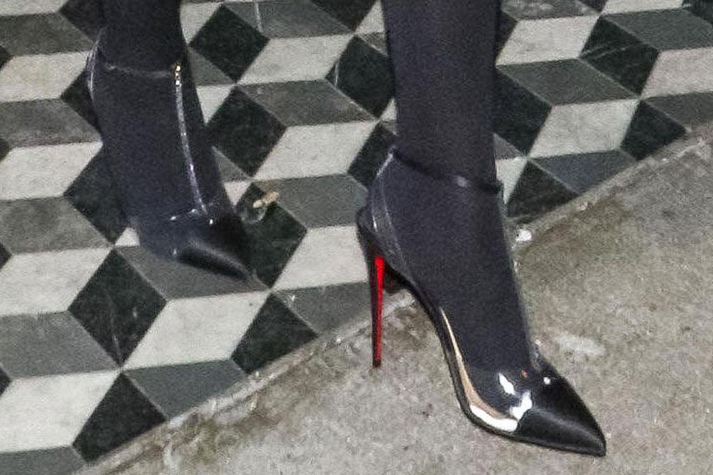 Jordyn Woods, pumps, christian louboutin, high heels, celebrity style, los angeles