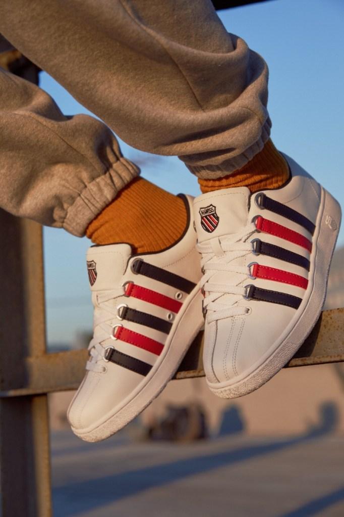 k-swiss, we are the west, foot locker, sneakers