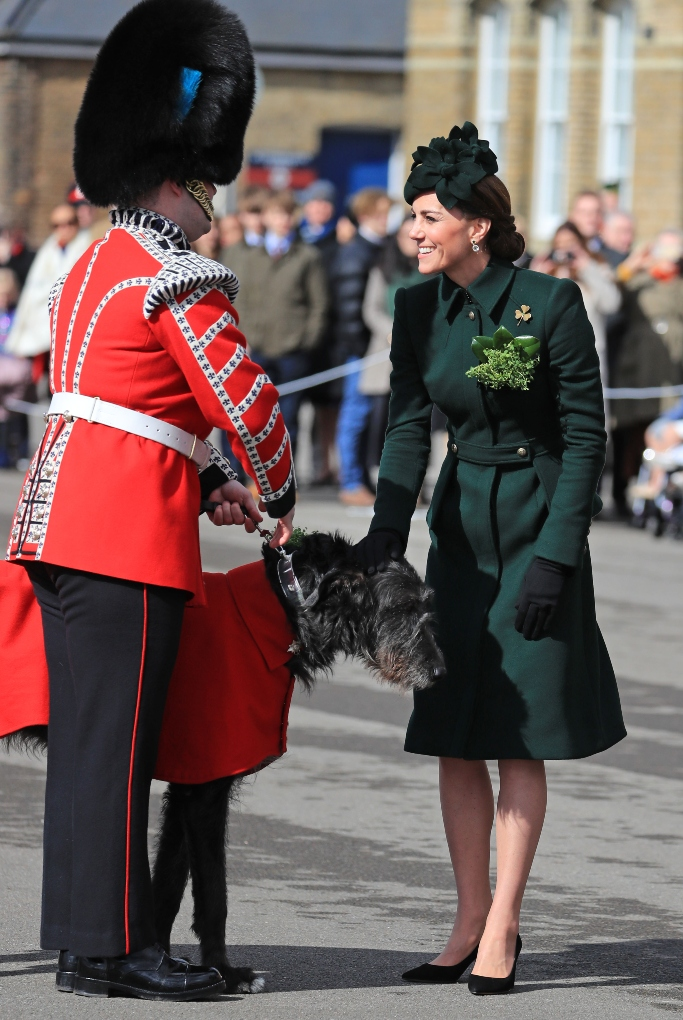kate middleton, Gianvito Rossi Piper Pumps, alexander mcqueen, st. patrick's day parade 2019