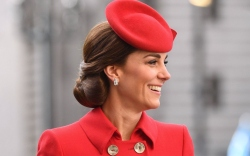 Kate Middleton's Red Dress, Emmy London