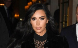 kim kardashian, Alaïa, paris, cheetah bodysuit,