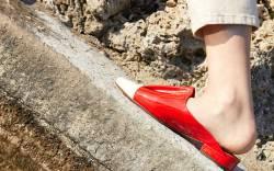L'Autre Chose Madeleine slipper.