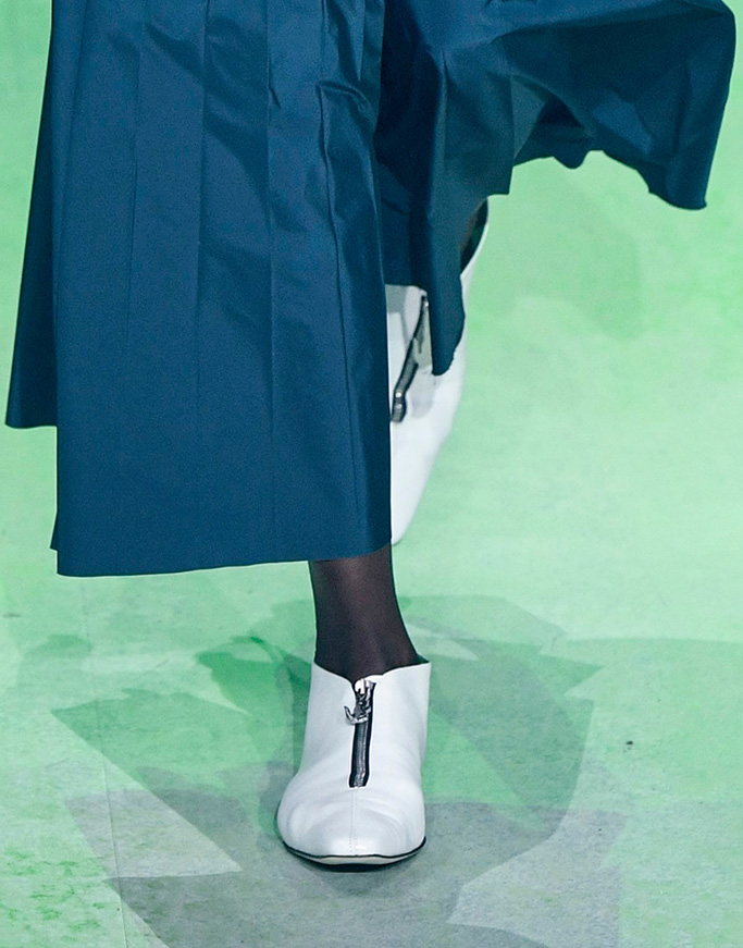 shoes, Model on the catwalkLacoste show, Runway, Fall Winter 2019, Paris Fashion Week, France - 05 Mar 2019