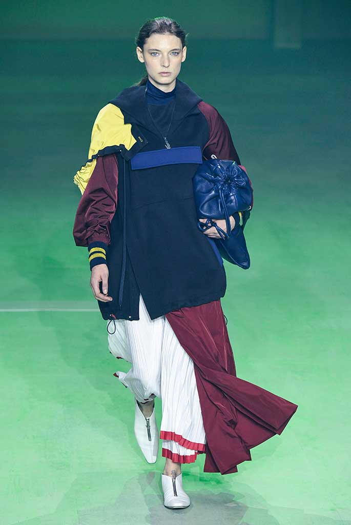 Lacoste fall '19, Paris Fashion Week.