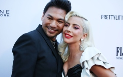 Lady Gaga Dances With Hairstylist at