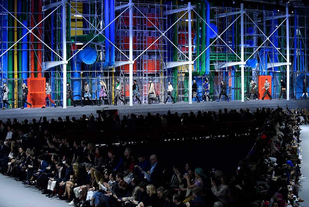 Louis Vuitton fall '19, Paris Fashion Week