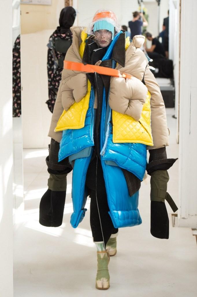 maison margiela, fall '18 couture, aw18, artisanal, lady gaga