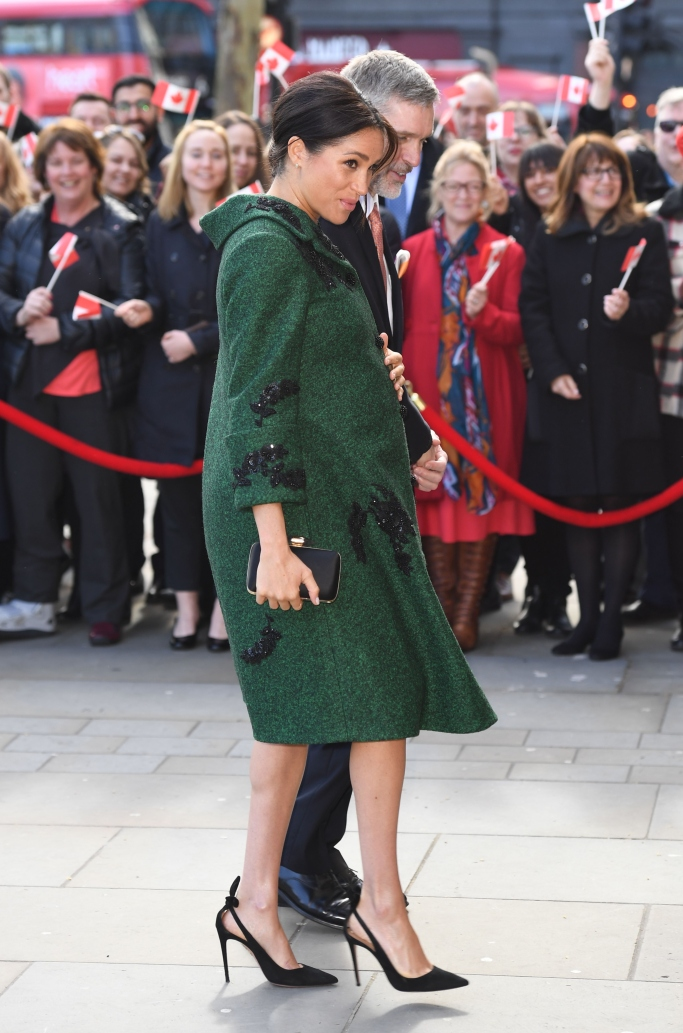meghan markle, erdem fall 2019, Aquazzura's Deneuve pumps