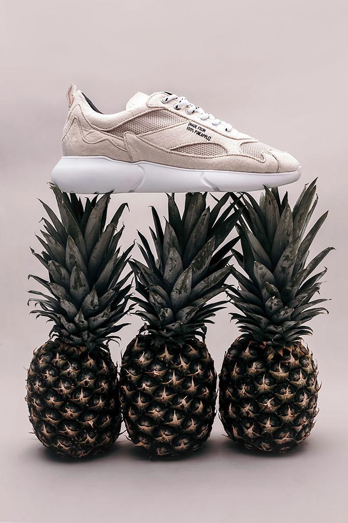 Mercer Amsterdam The W3RD Vegan Pineapple sneaker