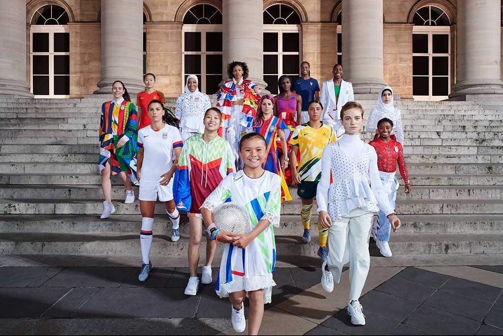 Nike unveils Women's World Cup uniforms.