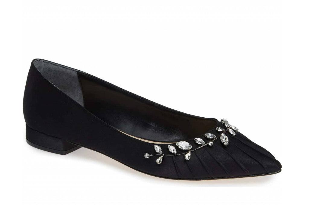 nina, prom shoes, flats