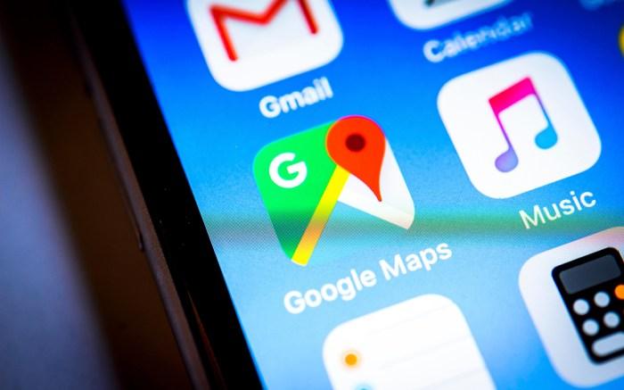 A Google Maps app icon