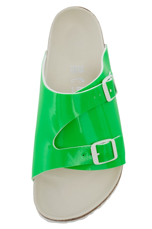 opening ceremony x birkenstock, birkenstock, opening ceremony, sandal, green