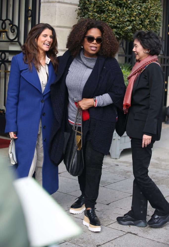 oprah, Stella McCartney Elyse Platform Oxford